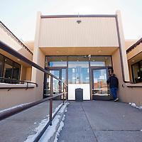 021313      Brian Leddy<br /> A patron visits the Octavia Fellin Public Library Wednesday.