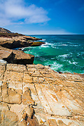 Lobo Canyon Beach, Santa Rosa Island, Channel Islands National Park, California USA