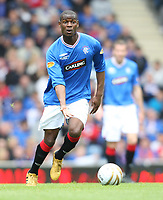Football - Scottish Premier League -  Rangers vs Motherwell<br /> <br /> Rangers draw 3 -3 with motherwell before being presented with the Clydesdale Bank Premier League Trophy .<br /> <br /> Pictured is Rangers Maurice Edu
