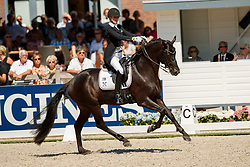 Freese Isabel, NOR, Fuersten Look<br /> World ChampionshipsYoung Dressage Horses<br /> Ermelo 2018<br /> © Hippo Foto - Dirk Caremans<br /> 05/08/2018