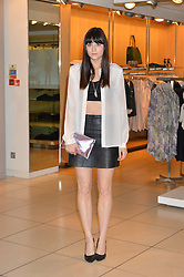 LILAH PARSONS at the French Connection #NeverMissATrick Launch Party held at French Connection, 396 Oxford Street, London on 23rd July 2014.