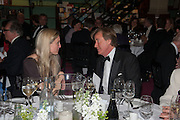 ROBIN HURLESTONE;  EVA RICE, The London Library Annual  Life in Literature Award 2013 sponsored by Heywood Hill. The London Library Annual Literary dinner. London Library. St. james's Sq. London. 16 May 2013.