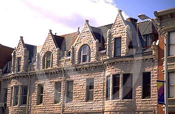 Harrisburg, PA, Architectural Detail, Stone Facades, Allison Hill City Scape