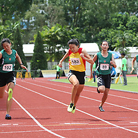 A Division Girls 100m