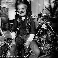 JR, Sons of Silence MC National President,  Colorado, 1997<br /> <br /> Limited Edition Print from an edition of 15. Photo ©1997 Michael Lichter.