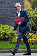 Sir Patrick Vallance, Government Chief Scientific Adviser arriving in Downing Street, London on Tuesday, March 24, 2020 - for a Cabinet meeting, the day after Prime Minister Boris Johnson put the UK in lockdown to help curb the spread of the coronavirus. (Photo/Vudi Xhymshiti)