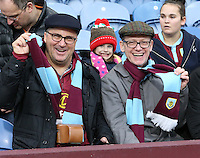 Burnley fans before the kick off<br /> <br /> Photographer Stephen White/CameraSport<br /> <br /> The Premier League - Burnley v Bournemouth - Saturday 10th December 2016 - Turf Moor - Burnley <br /> <br /> World Copyright © 2016 CameraSport. All rights reserved. 43 Linden Ave. Countesthorpe. Leicester. England. LE8 5PG - Tel: +44 (0) 116 277 4147 - admin@camerasport.com - www.camerasport.com<br /> <br /> Photographer Stephen White/CameraSport<br /> <br /> The Premier League - Burnley v Bournemouth - Saturday 10th December 2016 - Turf Moor - Burnley <br /> <br /> World Copyright © 2016 CameraSport. All rights reserved. 43 Linden Ave. Countesthorpe. Leicester. England. LE8 5PG - Tel: +44 (0) 116 277 4147 - admin@camerasport.com - www.camerasport.com