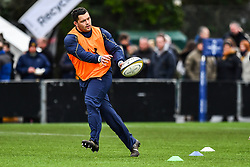 Simon Kerrod of Worcester Warriors during the pre match warm up - Mandatory by-line: Craig Thomas/JMP - 27/01/2018 - RUGBY - Sixways Stadium - Worcester, England - Worcester Warriors v Exeter Chiefs - Anglo Welsh Cup