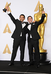 March 4, 2018 - Hollywood, CA, U.S. - 04 March 2018 - Hollywood, California - Gabriel Osorio Vargas, Pato Escala Pierart. 90th Annual Academy Awards presented by the Academy of Motion Picture Arts and Sciences held at Hollywood & Highland Center. Photo Credit: Theresa Shirriff/AdMedia (Credit Image: © Theresa Shirriff/AdMedia via ZUMA Wire)