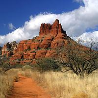 USA, Arizona, Sedona. Scenic Red Rock formations of Sedona, Arizona.