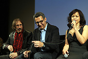 l to r: Richard Edson, John Tutturo, Rosie Perez at The ImageNation celebration for the 20th Anniversary of ' Do the Right Thing' held Lincoln Center Walter Reade Theater on February 26, 2009 in New York City. ..Founded in 1997 by Moikgantsi Kgama, who shares executive duties with her husband, Event Producer Gregory Gates, ImageNation distinguishes itself by screening works that highlight and empower people from the African Diaspora.