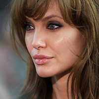 Actress Angelina Jolie arrives for the premiere of 'Salt,' on August 16, 2010, at the Empire, Leicester Square in London..