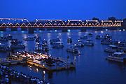 Susquehanna River, Orchestra, Night view, Harrisburg, PA