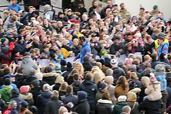 Somoa players arrive before the Autumn International at Twickenham Stadium, London.