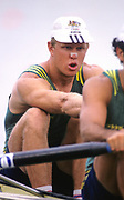 Atlanta,  Geogia, USA.,   AUS M2- ,  David WEIGHTMAN, Silver  Medalist. 1996 Olympic Rowing Regatta,  Lake Lanier, Georgia, [Mandatory Credit Peter Spurrier/ Intersport Images]
