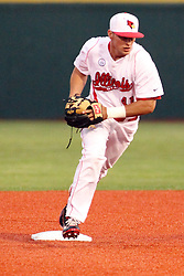 25 May 2013:  Paul Dejong during an NCAA division 1 Missouri Valley Conference (MVC) Baseball Tournament game between the Wichita State Shockers and the Illinois State Redbirds on Duffy Bass Field, Normal IL