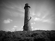 Ballycorus Lead Mine Tower was built in 1807 after the discovery of the vein of lead within the area. It is now the finest example of lead mine left in the UK and Ireland.