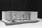 06/05/1965<br /> 05/06/1965<br /> 06 May 1965<br /> Model of Monsell Mitchell and Co. Ltd. showroom.