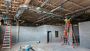 Construction at Sharpstown High School, May 18, 2017.