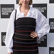 Becky Tong arriver at the Graduate Fashion Week 2018, June 6 2018 at Truman Brewery, London, UK.