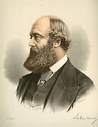 Robert Arthur Talbot Gascoyne Cecil, 3rd Marquis of Salisbury (1830-1903) British Conservative statesman. Prime Minister 1885, 1886, 1895-1902. Tinted lithograph c1880.