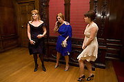 DUCHESS OF YORK;  PRINCESS BEATRICE; PRINCESS EUGENIE. The World Premiere of Young Victoria in aid of Children in Crisis and St. John Ambulance. Odeon Leicesgter Sq. and afterwards at Kensington Palace. 3 March 2009 *** Local Caption *** -DO NOT ARCHIVE -Copyright Photograph by Dafydd Jones. 248 Clapham Rd. London SW9 0PZ. Tel 0207 820 0771. www.dafjones.com<br /> DUCHESS OF YORK;  PRINCESS BEATRICE; PRINCESS EUGENIE. The World Premiere of Young Victoria in aid of Children in Crisis and St. John Ambulance. Odeon Leicesgter Sq. and afterwards at Kensington Palace. 3 March 2009