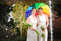 Same-sex Civil Wedding Ceremony at Eynsham Hall