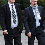 NLD/Leusden/20131107 - Uitvaart Leen Timp, Ron brandsteder en ................