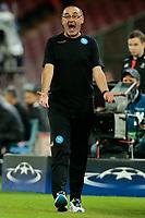 Maurizio Sarri Napoli, <br /> Napoli 19-10-2016 Napoli - Besiktas<br /> Football Calcio UEFA Champions League 2016/2017 Group B. Napoli - Besiktas<br /> Foto Cesare Purini / Insidefoto