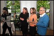 GIOVANA BAGGIO; ANTONELLA SANTOS; YVONNE BINS; ROBERT BINS, Veuve Clicquot World's Best Female chef champagne tea party. Halkin Hotel. Halkin St. London SW1. 28 April 2014.