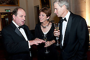 JIM NAUGHTIE; LOUISE RICHARDSON; TOM JEVON, The 2009 Booker Prize dinner. Guildhall. London. 6 October 2009