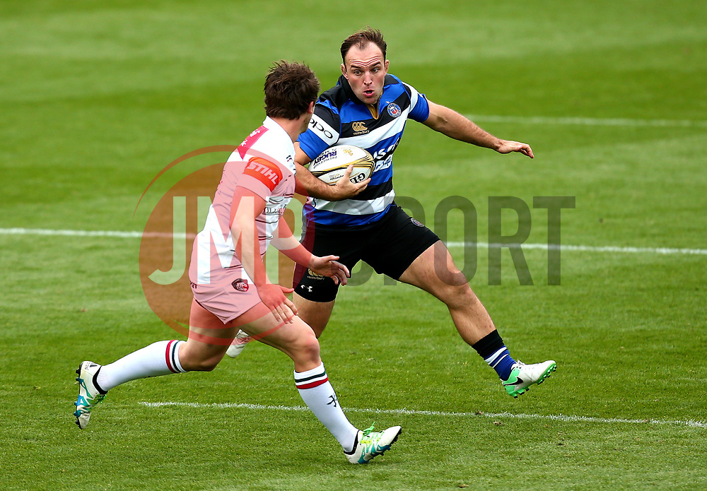 Robert Bell of Bath Rugby tuns with the ball - Mandatory by-line: Robbie Stephenson/JMP - 29/07/2017 - RUGBY - Franklin's Gardens - Northampton, England - Leicester Tigers v Bath Rugby - Singha Premiership Rugby 7s