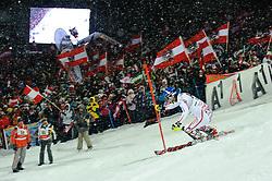 24.01.2012, Planai, Schladming, AUT, FIS Weltcup Ski Alpin, Herren, Slalom 2. Durchgang, im Bild Benjamin Raich (AUT) // Benjamin Raich of Austria during the second run of the FIS Alpine Skiing World Cup mens slalom race, Schladming, Austria on 2012/01/24. EXPA Pictures © 2012, PhotoCredit: EXPA/ Sandro Zangrando