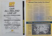 All Ireland Senior Hurling Championship - Final, .03.09.1995, 09.03.1995, 3rd September 1995, .03091995AISHCF, .Senior Clare v Offaly,.Minor Kilkenny v Cork,.Clare 1-13, Offaly 2-8, .MFP Sales Limited,