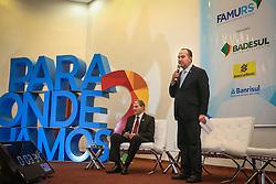 O candidato ao Governo Federal, Pastor Everaldo apresenta suas propostas durante o 34º Congresso de Municípios, no Plaza São Rafael, em Porto Alegre. FOTO: Jefferson Bernardes/ Agência Preview
