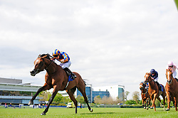 Broome and Donnacha O'Brien wins the Derrinstown Stud Derby Trial Stakes at Leopardstown Racecourse.