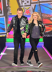Heidi and Spencer Pratt enter the Celebrity Big Brother house at Elstree Studios in Borehamwood, Herfordshire, during the latest series of the Channel 5 reality TV programme.