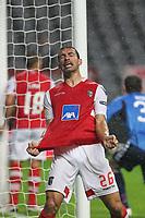 20111103 Braga: SC Braga vs. NK Maribor, UEFA Europa League, Group H, 4th round. In picture: Paulo Vinicius misses a chance. Photo: Pedro Benavente/Cityfiles