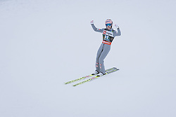 10.12.2020, Planica Nordic Centre, Ratece, SLO, FIS Skiflug Weltmeisterschaft, Planica, Einzelbewerb, Qualifikation, im Bild Stefan Kraft (AUT) // Stefan Kraft of Austria during the qualification for the men individual competition of FIS Ski Flying World Championship at the Planica Nordic Centre in Ratece, Slovenia on 2020/12/10. EXPA Pictures © 2020, PhotoCredit: EXPA/ JFK