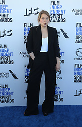 February 8, 2020, Los Angeles, California, United States: 2020 Film Independent Spirit Awards held at Santa Monica Pier..Featuring: Merritt Wever.Where: Los Angeles, California, United States.When: 08 Feb 2020.Credit: Faye's VisionCover Images (Credit Image: © Cover Images via ZUMA Press)
