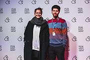 Rode loper met regisseurs International Shorts & German Shorts
