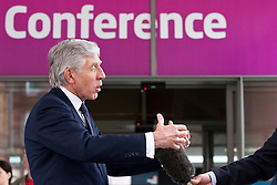 © Licensed to London News Pictures. 02/10/2012. Manchester, UK . Jack Straw outside the conference venue . Labour Party Conference Day 3 at Manchester Central . Photo credit : Joel Goodman/LNP