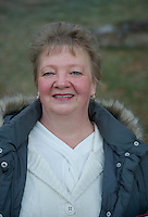 """Debbie Haskell  Gilford, NH.  Debbie said """"Trump all the way!""""  Voted for Donald Trump.  (Karen Bobotas/for the Laconia Daily Sun)"""