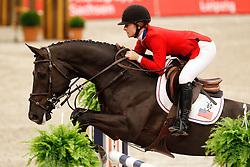 Michelle Spadone - Uwwalon<br /> Rolex FEI World Cup Final Jumping 2011<br /> © Hippo Foto - Leanjo de Koster