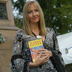J K Rowling, Edinburgh 2004