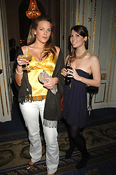 Left to right, HENRIETTA CLARKE HALL and GEORGIE TRASENSTER at a party to celebrate the launch of The Essential Party Guide held at the Mandarin Oriental Hyde Park, 66 Knightsbridge, London on 27th March 2007.<br /><br />NON EXCLUSIVE - WORLD RIGHTS