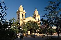 IGLESIA CATEDRAL NUESTRA SENORA DEL ROSARIO, CAFAYATE, VALLES CALCHAQUIES, PROV. DE SALTA, ARGENTINA