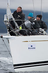 Day one of the Silvers Marine Scottish Series 2016, the largest sailing event in Scotland organised by the  Clyde Cruising Club<br /> Racing on Loch Fyne from 27th-30th May 2016<br /> <br /> GBR7745R, Eala of Rhu, J McGarry / C Moore, RNCYC, Swan 45.<br /> <br /> <br /> Credit : Marc Turner / CCC<br /> For further information contact<br /> Iain Hurrel<br /> Mobile : 07766 116451<br /> Email : info@marine.blast.com<br /> <br /> For a full list of Silvers Marine Scottish Series sponsors visit http://www.clyde.org/scottish-series/sponsors/