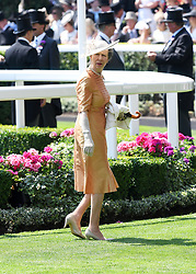 Anne, Princess Royal during day one of Royal Ascot at Ascot Racecourse, London