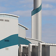 Riverside Resource Recovery facility in Belvedere, London. A waste to energy plant.